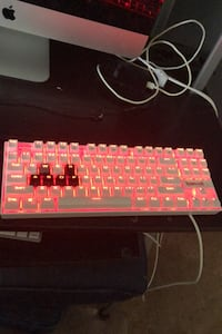 Red dragon 60% gaming Keyboard Red LED Fort Mill, 29715