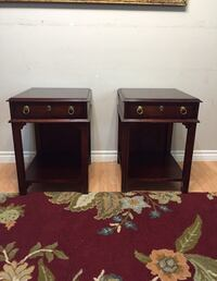 LUXURIOUS 2x Cherrywood Night Tables (with free delivery)  London, N6G
