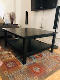 Ikea black-brown coffee table, used less than one year, in very good condition  Toronto, M4P