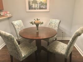 4 Dining Chairs table not included