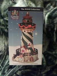 It's a collectible Christmas light house it's never been open