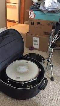 white and black snare drum Windsor township, 17356