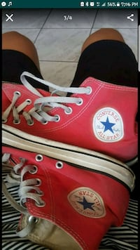 red Converse All Star high-top sneakers Santa Ana, 92704