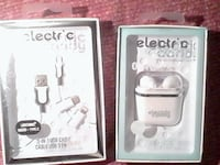 Electric Candy wireless ear buds & charging case + Brampton