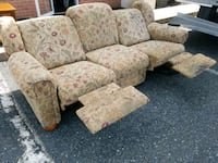 brown and red floral fabric sofa chair Forest Hill, 21050