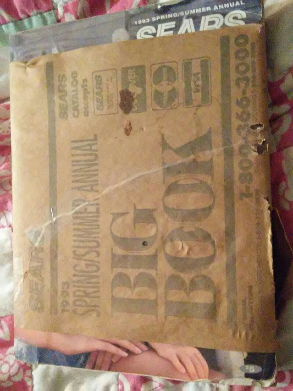 Last issue sears wishbook unopened