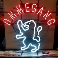 Ommegang Brewery Neon Sign
