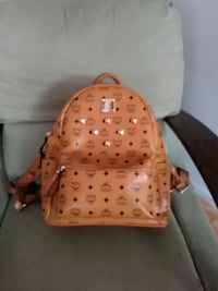 brown leather MCM backpack price negotiable Cleveland, 37311