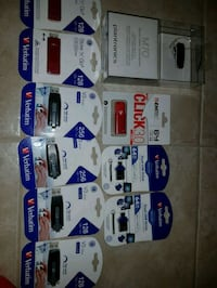 assorted-color USB cable lot Toronto, M1R 1W5