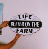 Farm Life Wall Hanging Decor  El Paso, 79935
