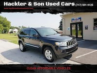 Jeep Grand Cherokee 2011 Red Lion