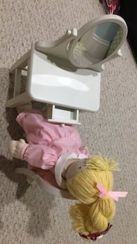 Pottery Barn doll vanity set (with doll and chair) Fairfax, 22030