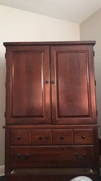 TV chest bureau stand drawers