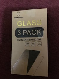 3 pack Glass screen protectors  Portland, 97212