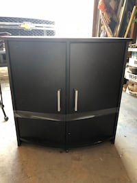 Black 2-door cabinet with shelf Germantown, 20876