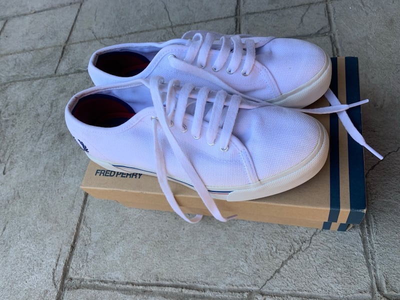 Fred Perry Phoenix Flatform size 7 1