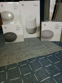 Google Home and Mini never used. New in box. Calgary, T2Z 2V5