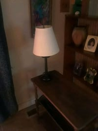 white and brown table lamp Lexington, 40503