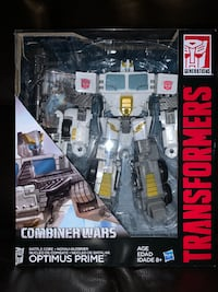 Transformers CombinerWars Voyager White Battle Core OptimusPrime MISB