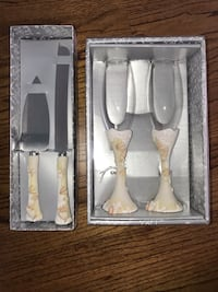 Wedding Toast Glasses and Cake Cutters Charlotte, 28278