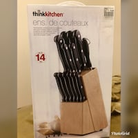 Knife set brand new
