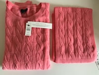 Size:XL Brand New Cashmere sweater and scarf  Arlington, 22202