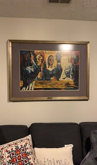 """Original Signed & Framed Lithograph: """"People Wanting"""" Springfield, 22153"""