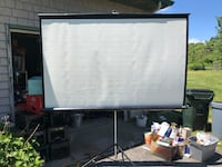 Movie projector screen Fall River, 02790