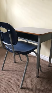 Great Desks grades 1 and up Legs are  adjustable
