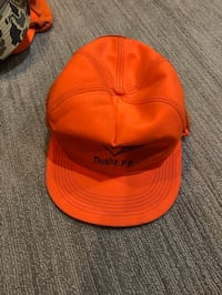 Medium orange hat Minneapolis