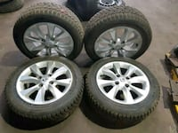 Nissan rims and tires 205-55-16 Toronto, M3K 1Z9