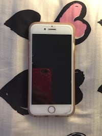 silver iPhone 6 with case Toronto, M9L 2J6