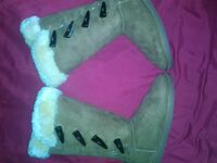 brown-and-white Bearpaw snow boots Long Beach, 90806