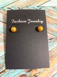 New Fashion Colored Pearl Earrings