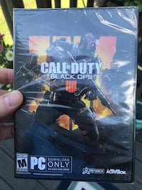 Call of Duty Black Ops 4 for PC-Brand New Broadlands, 20148