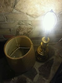 two gold-colored table lamps Kitchener, N2M 2B2