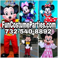 Fun costume party entertainment Rahway