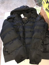 Authentic coach 82158 men's  clarkson nylon down puffer winter jacket coat with hood XL ( new) Roswell, 30075