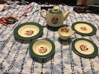 Antique dish set of 10 402 mi