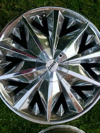 4 20 inch 5 lug Chrome LEXANI Alloy wheel