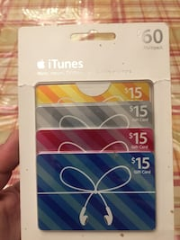 iTunes Gift Cards Multipack (US cards) Richmond Hill, L4C 9S5