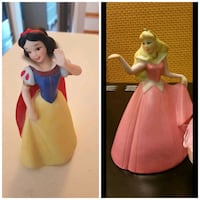 Snow White,  sleeping beauty figurines. Whitby, L1N 8X2