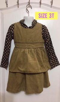 Marc and Maddie Cute Fall Outfit: Size 3T  Toronto, M1S