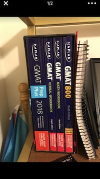 Kaplan GMAT Books Complete Washington, 20001