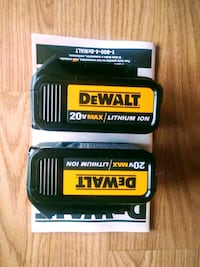 *Brandnew* 3.0ah DeWalt batteries- two for $70
