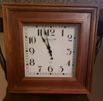 Wooden clock, good condition