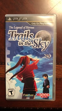 PSP: The Legend of Heroes: Trails in the Sky CIB Vaughan, L6A 4L5