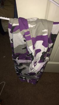 Purple rothco pants (small) Langley, V2Y 0C3