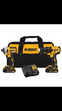 DeWalt portable combo kit with duffel bag