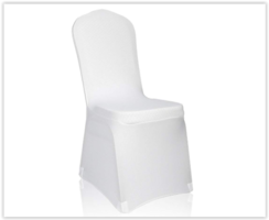White Wedding Banquet Chair covers (150 count)